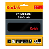 Kodak Smartphone Charger 2600mAh - Black