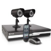 Storage Options Home DIY CCTV Kit 500GB Digital Video Recorder + 2 Outdoor Cameras CBID:1482848