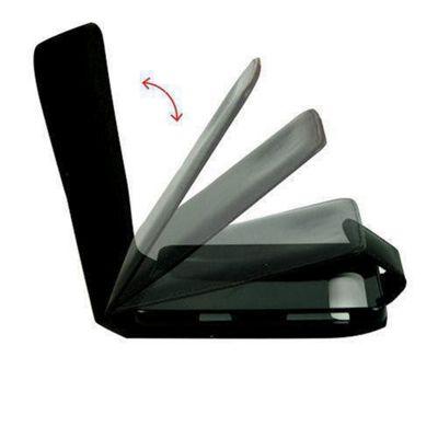 U-bop Neo-ORBIT Leather Case Black - For Apple iPhone 4, 4S S