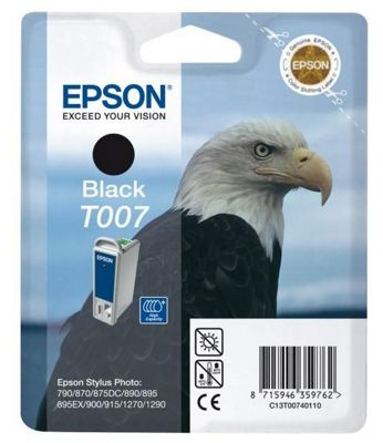 Epson T007 Black Ink Cartridge C13T00740110