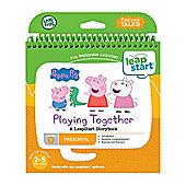 LeapFrog LeapStart Preschool Peppa Pig Book