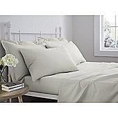 Catherine Lansfield 100% Cotton Flat Sheet - Natural