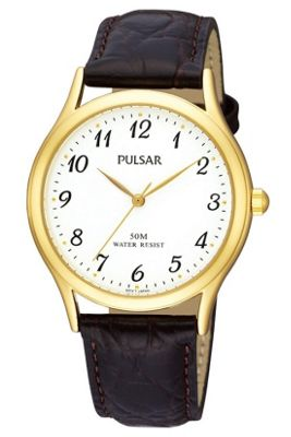 Pulsar Gents Leather Strap PRS650X1