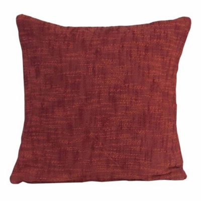 Homescapes Nirvana Cotton Orange Cushion Cover, 60 x 60 cm