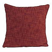 Homescapes Nirvana Cotton Orange Scatter Cushion, 60 x 60 cm