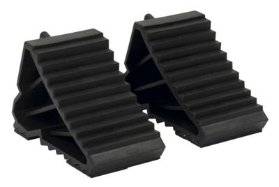 Sealey WC09 - Composite Wheel Chocks 0.3kg - Pair