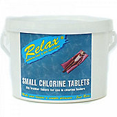 2kg Relax Small Swimming Pool 20g Chlorine Tablets
