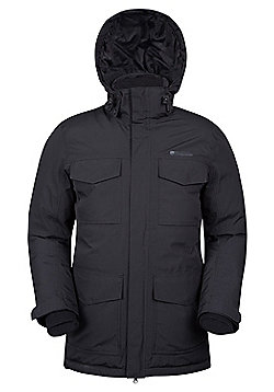 Mountain Warehouse Concord Extreme Mens Down Long Jacket ( Size: M )