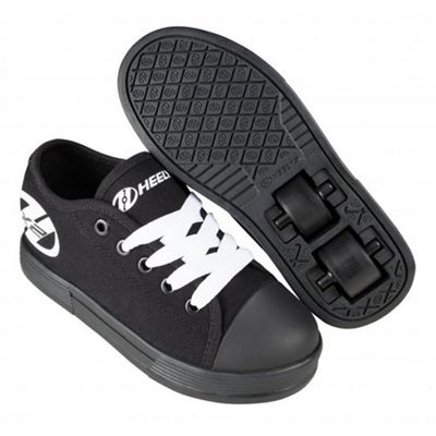 Heelys Fresh Black/Black Kids HX2 Heely Shoe UK 1