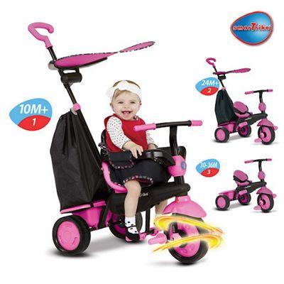Smart Trike Delight - Pink