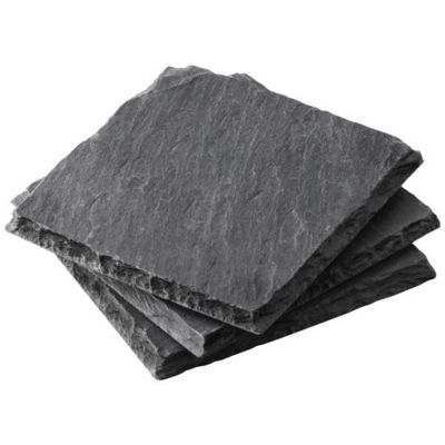 Boska Monaco Collection Slate Coasters, Set of 4