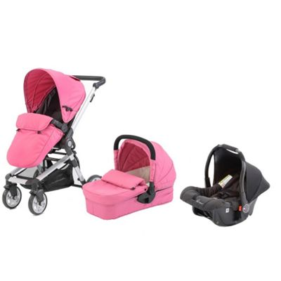 Buy Baby Elegance Beep Twist Travel System Pink From Our