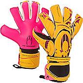 ho Ghotta Legacy Roll/Neg Junior Goalkeeper Gloves - Yellow