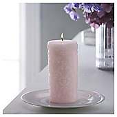 Fox & Ivy Morrocan Rose Luxury Scented Pillar Candle