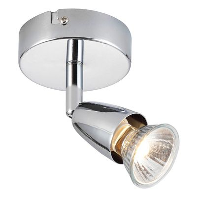 Amalfi Single 50W Spotlight Chrome Plate