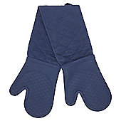 Navy Silicone Double Oven Glove- New