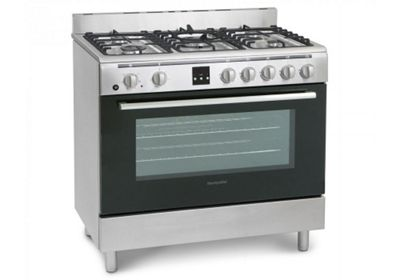 Montpellier MR90DFMX Dual Fuel Range Cooker in Stainless Steel