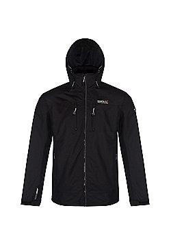 Tesco Regatta Calderdale II Isotex 5000 Waterproof Jacket - Black