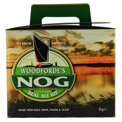 Woodfordes Norfolk Nog (ABV 4.6%) 40 Pint Real Ale Kit