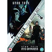 STAR TREK AND STAR TREK INTO DARKNESS (2014 RE-PACK) 2disc DVD