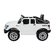 Homcom Kids Toy Electric Ride on Car Sport Style Battery Rechargeable Jeep White
