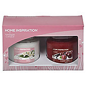 Yankee Candle Gift Set, 2 Medium Jars, Pink