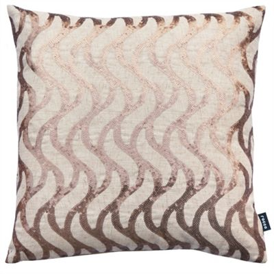 Rocco Wave Natural Cushion Cover - 43x43cm