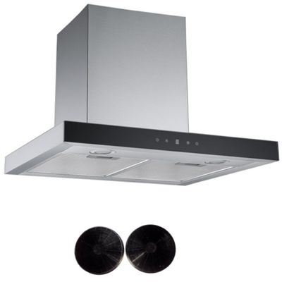 Cookology LINT601SS Linear Cooker Hood Touch Control 60cm Designer Extractor Fan & Carbon Filters
