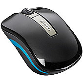 Rapoo 6610 Dual-mode Wireless 2.4GHz & Bluetoooth 3.0 Optical Mouse (Black)