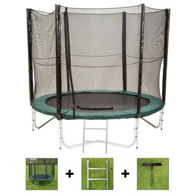 Up and About 8ft Air Pro Advanced Trampoline Package with Free Ladder and Building Tool