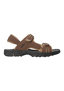 Mountain Warehouse Z4 Sandal Walking Hiking Beach Holiday Shoes Mens Outdoor - Brown