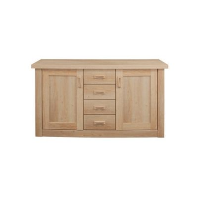Caxton Countryman Two Door Four Drawer Sideboard in Chestnut