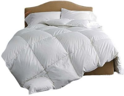 Double Luxury Goose Feather And Down Duvet 100% Cotton Cover 13.5 Tog