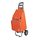 Metaltex Krokus Large 50 Litre Shopping Trolley - Orange