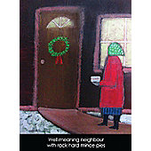 Holy Mackerel Well Meaning Neighbour Greetings Card