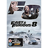 Fast And Furious 8 (Tesco Exclusive) DVD