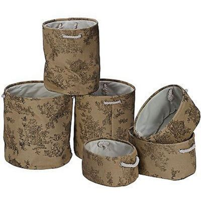 Set of 6 Storage Bags
