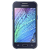 Tesco Mobile Samsung J1 Blue & Selfie Stick