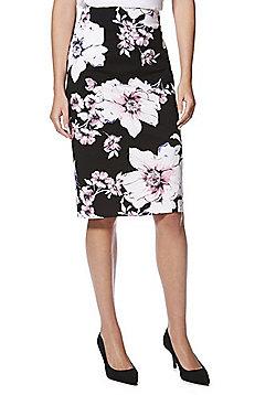 F&F Floral Pencil Skirt - Multi
