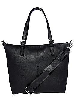 F&F Grained Tote Bag
