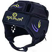 Optimum Rugby Tribal Rugby Headguard IRB Approved - Black & Green