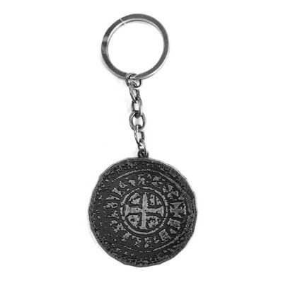 Uncharted 4 Unisex Metal Old Coin Keychain, One Size, Silver (ke230120unc)