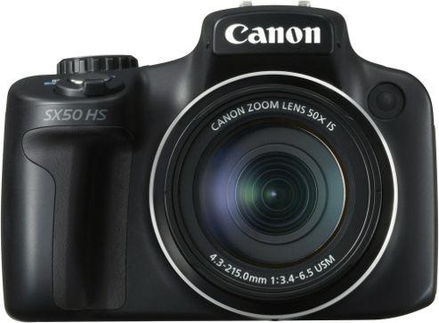 Canon PowerShot SX50 12.1MP 50x Optical Zoom HS Compact Digital Camera