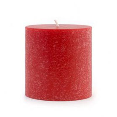 Fragrance Timberline Pillar Candle Hollyberry With 17 Hours/Inch Burn Time