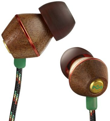 HOUSE OF MARLEY PEOPLE GET READY EARPHONES (RASTA WITHOUT MICROPHONE)