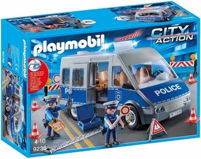 Playmobil Policeman with Van