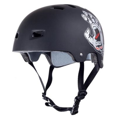 Bullet / Santa Cruz Colab Screaming Hand Graphic Helmet - Black - S / M Adult - 54 - 57cm