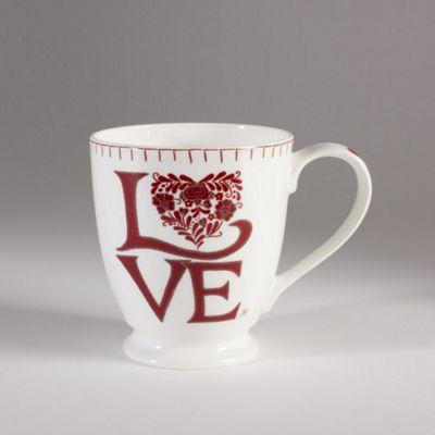 Jan Constantine Romany Love Design Tall Fine China Mug