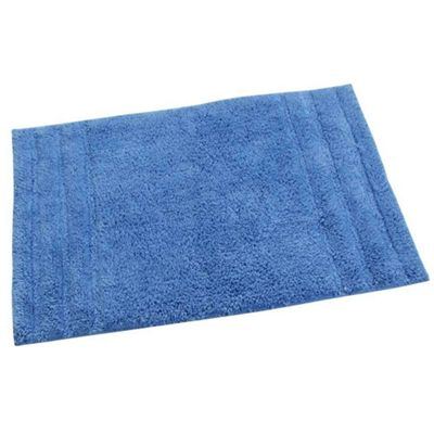 Homescapes Spa Supreme Luxury Blue Bath Mat
