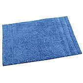 Homescapes Spa Supreme Luxury Blue Bath Mat